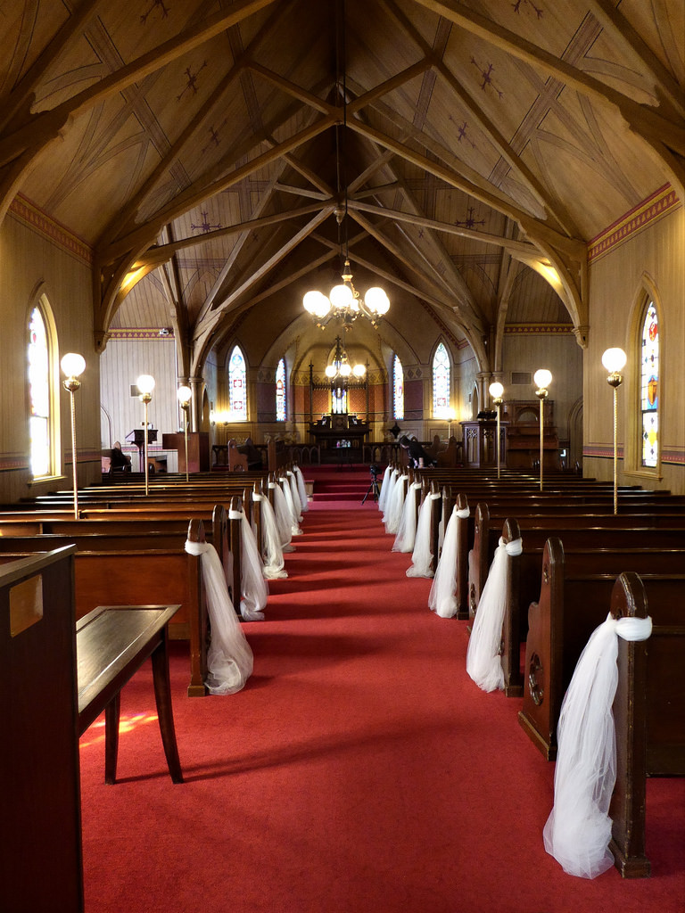 Naper Settlement Chapel Inside